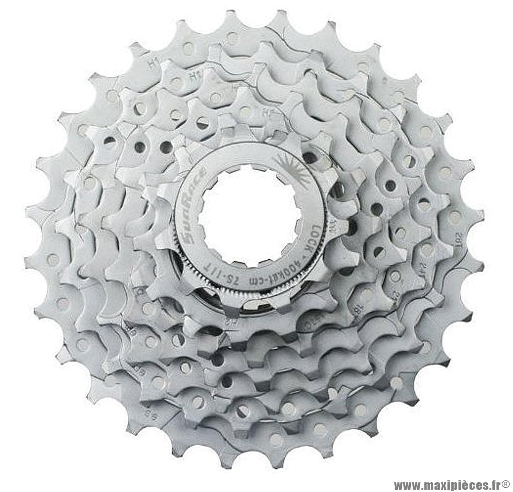 Cassette 7 vitesses 11-28 marque Sunrace - Pièce vélo