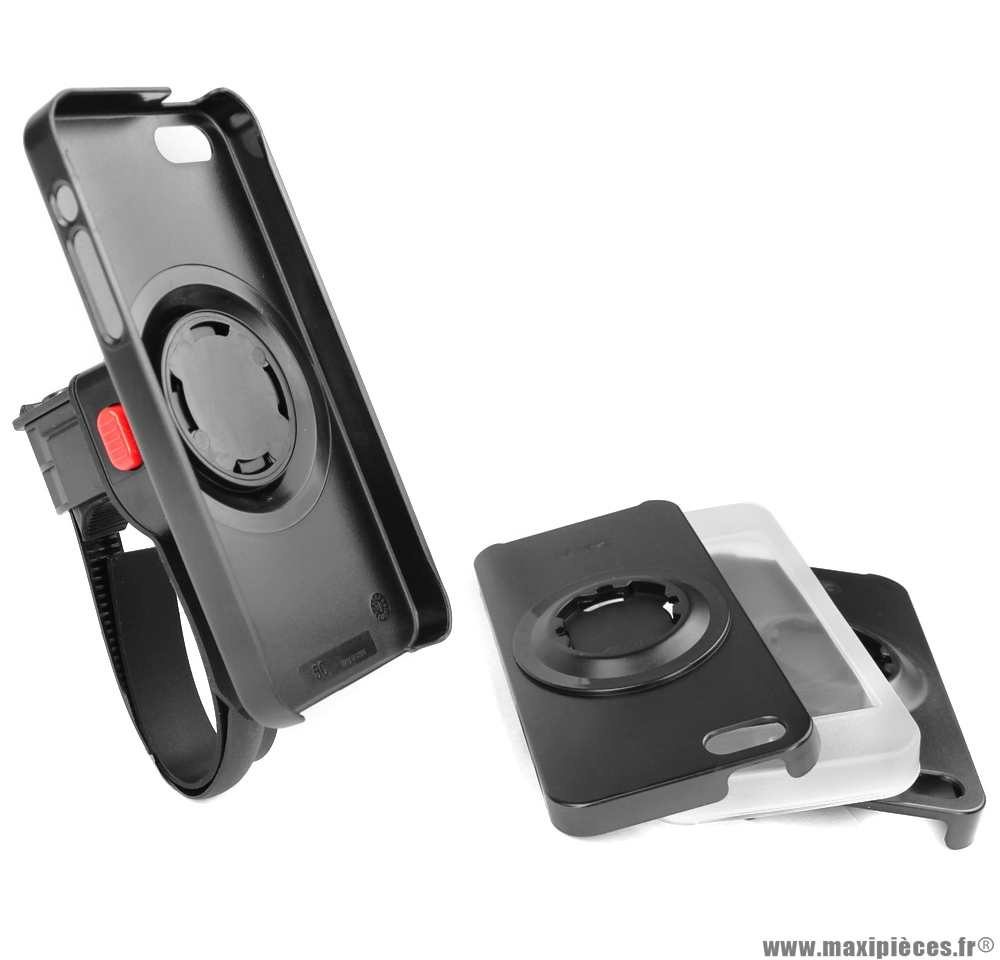 Support smartphone z console lite iphone 4 / 4s / 5 / 5s marque Zéfal - Accessoire vélo
