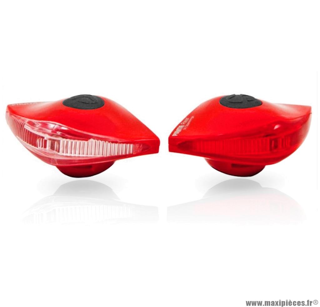Eclairage pirata llt avant + arrière rouge marque Spanninga - Matériel pour Vélo