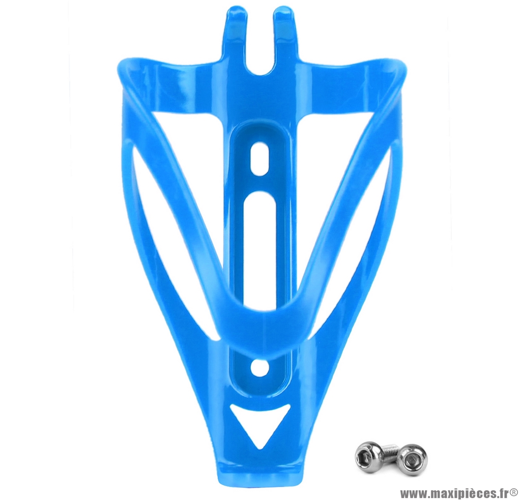 Porte bidon en résine bleu ferme poids : 31,2 grammes marque WTP - Accessoire vélo