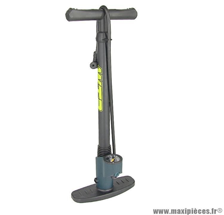 Pompe a pied corps plastique avec mano marque WTP - Accessoire vélo