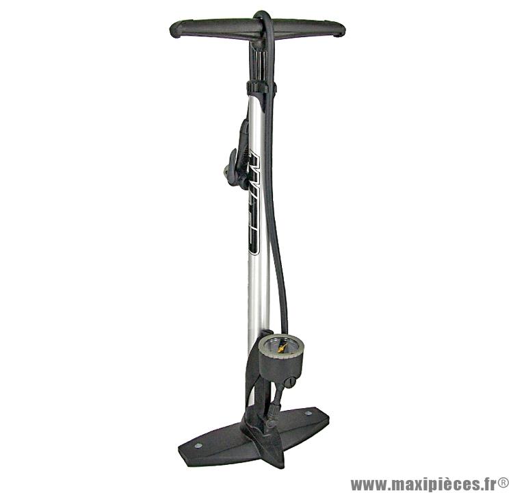 Pompe a pied corps alu avec mano,t valve marque WTP - Accessoire vélo