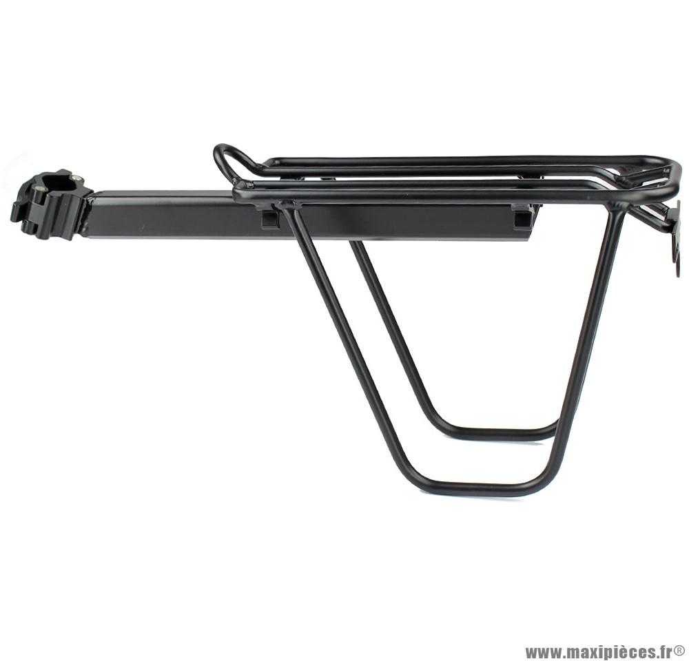 Porte bagage vélo montage sur tige de selle diamètre 25,4mm + 31,8mm marque WTP - Accessoire vélo