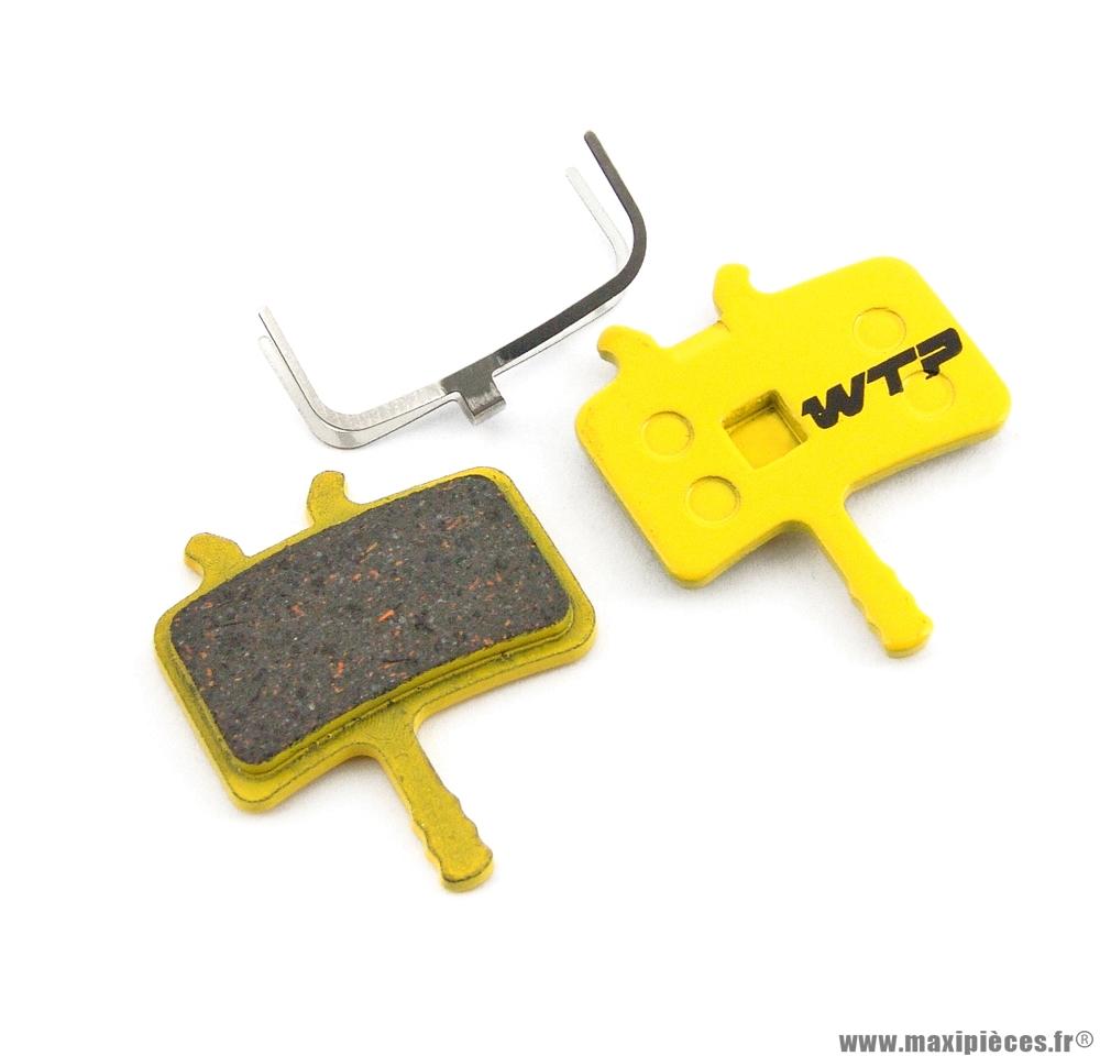 Plaquette de frein vélo compatible avid all juicy et meca bb7 marque WTP - Matériel pour Vélo