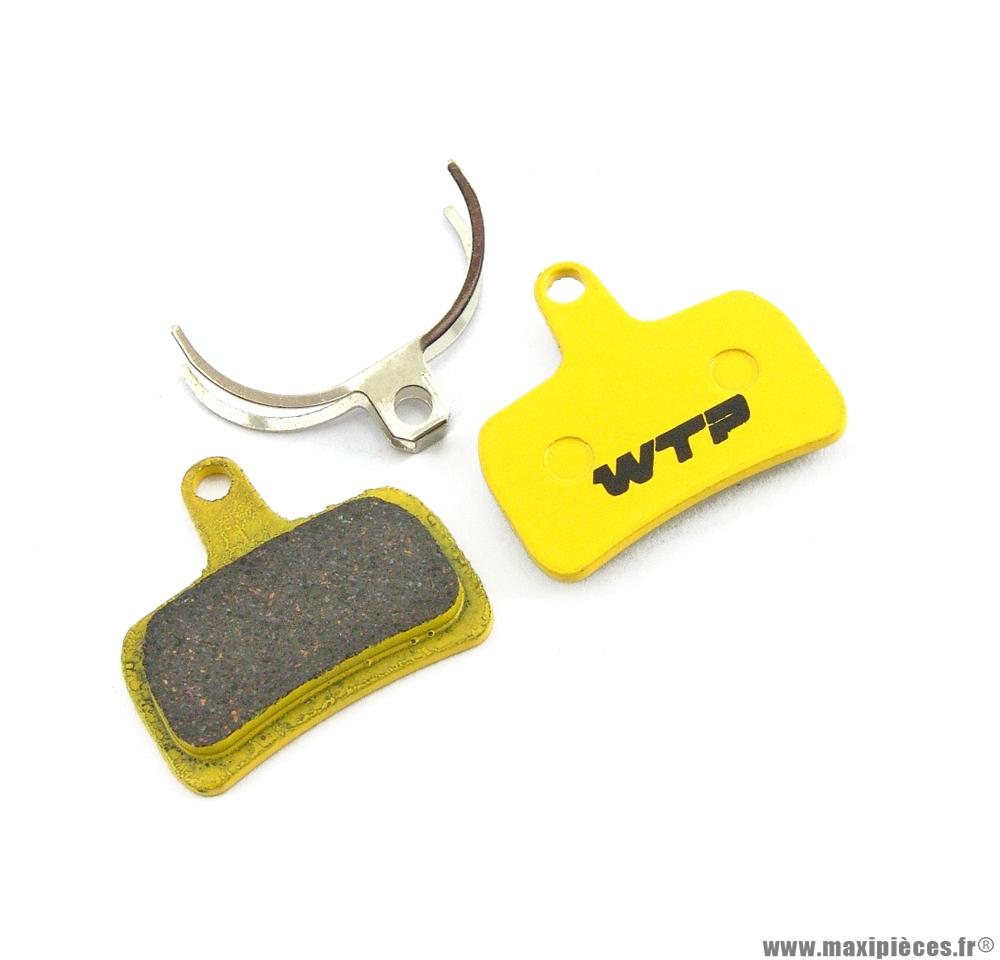 Plaquette de frein vélo compatible hope mono mini marque WTP - Matériel pour Vélo