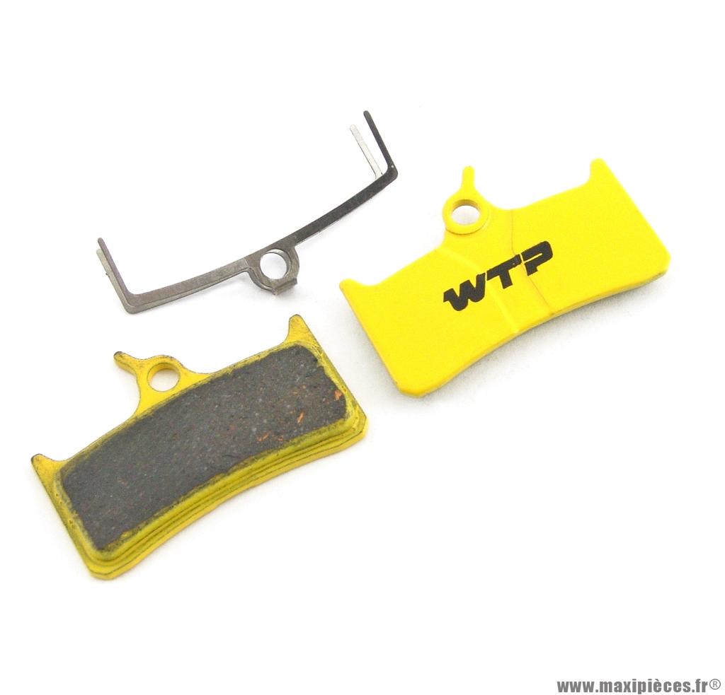 Plaquette de frein vélo compatible hope mono m4 / shimano xt / grimeca marque WTP - Matériel pour Vélo