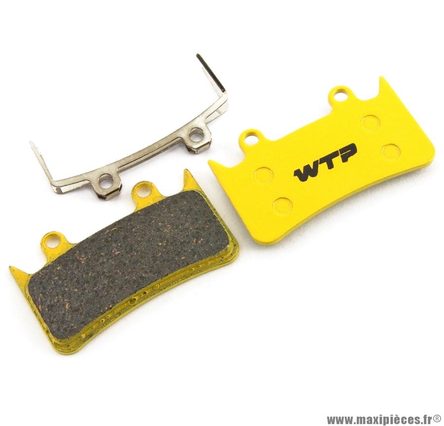 Plaquette de frein vélo compatible hope mono 6 marque WTP - Matériel pour Vélo