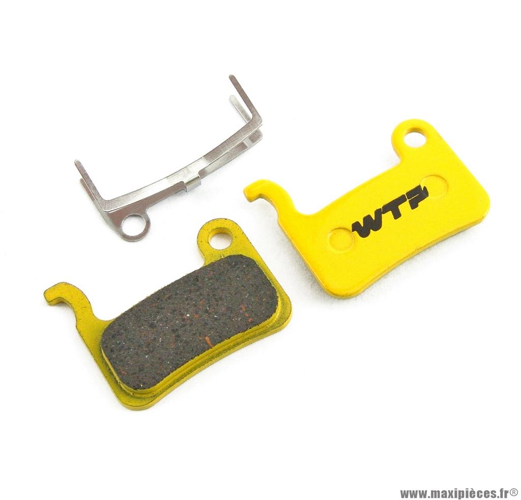 Plaquette de frein vélo compatible xtr,xt 2004,saint marque WTP - Matériel pour Vélo