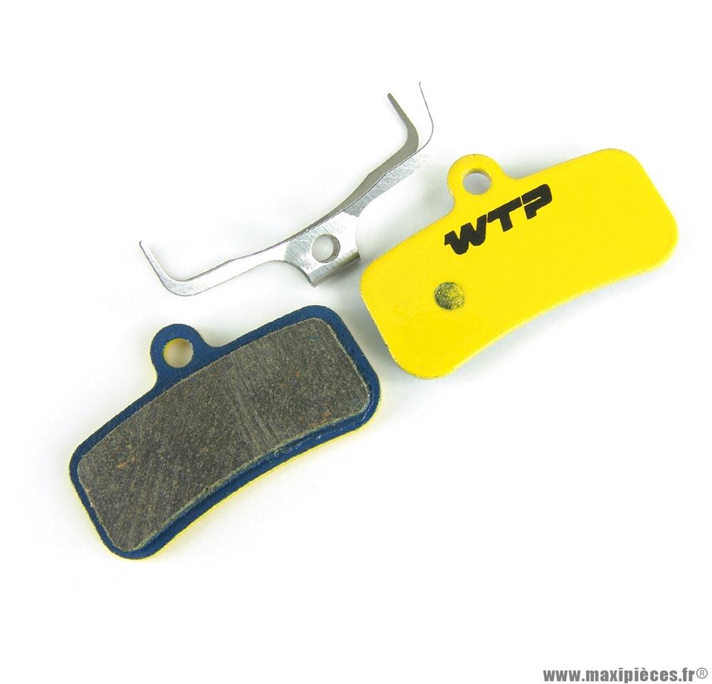 Plaquette de frein vélo compatible shimano saint 4 pistons marque WTP - Matériel pour Vélo