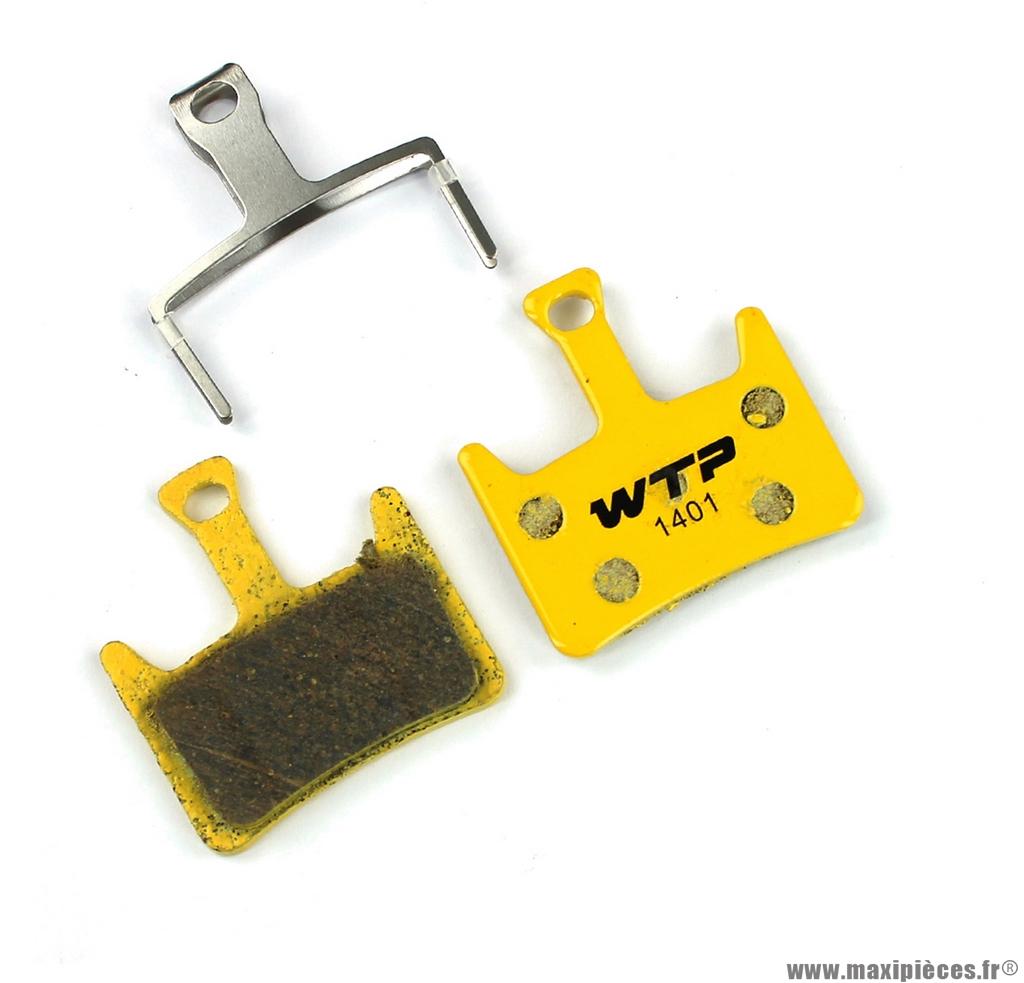 Plaquette de frein vélo compatible hayes prime marque WTP - Matériel pour Vélo