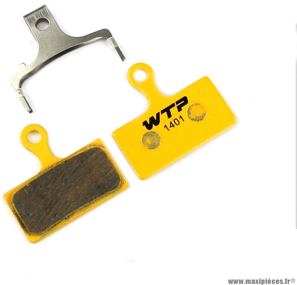 Plaquette de frein vélo compatible shimano xtr 2011 marque WTP - Matériel pour Vélo