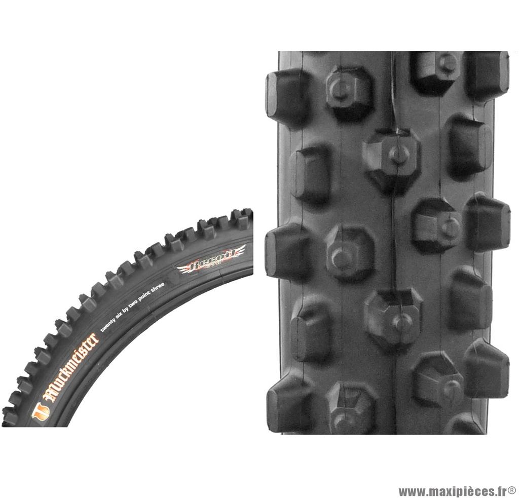 Pneu de vélo dimension 26 x 2,30 muckmeister marque Duro