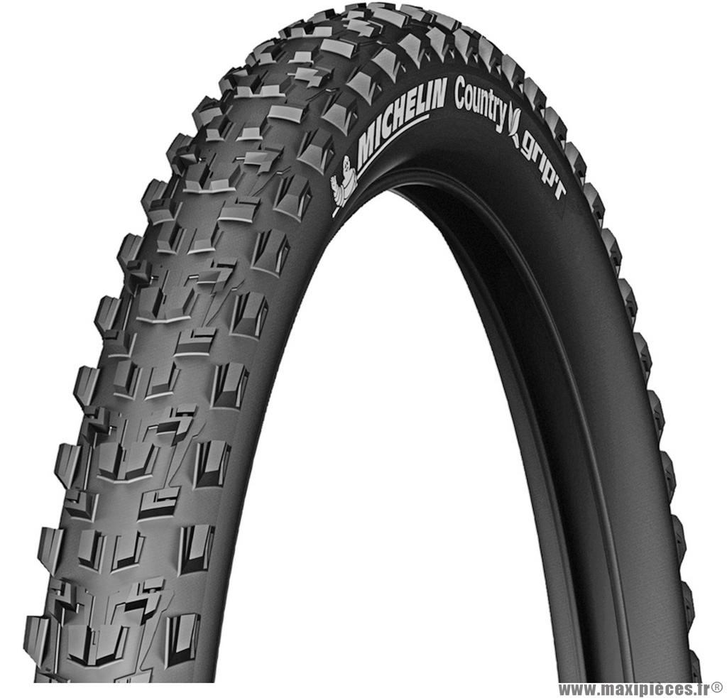 Pneu vélo de dimension 27,5x2,10 country grip'r marque Michelin