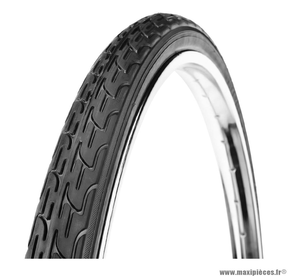 Pneu de vélo pour enfant 24 pouces x 1 3/8 noir marque Deli Tire