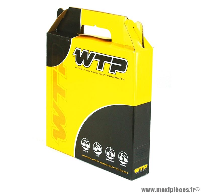 Gaine frein diamètre 5mm noir (boite de 30m) (v727a) marque WTP - Matériel pour Vélo
