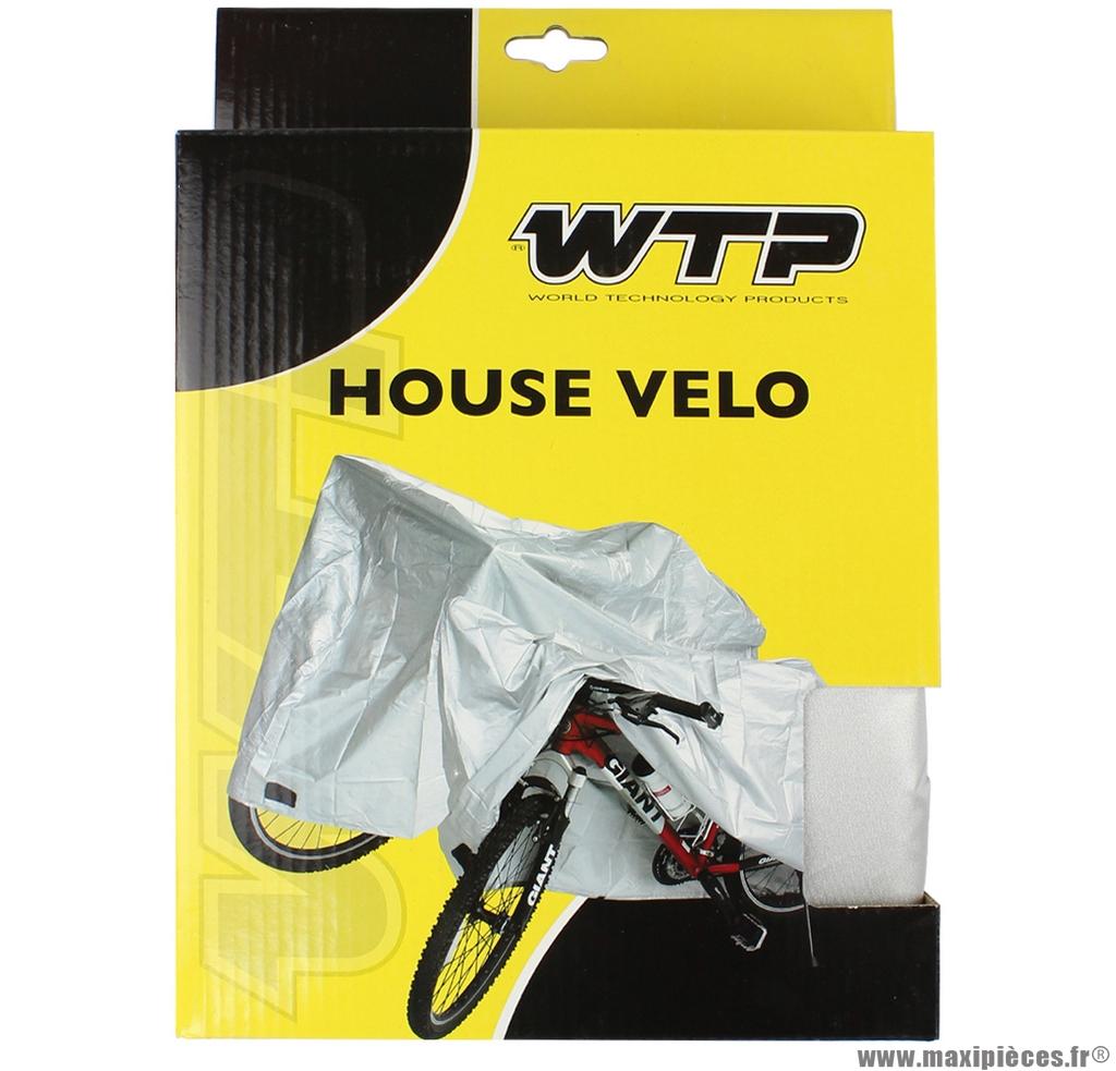 Housse de protection pour vélo l (195 x 77 x 90 cm) marque WTP- Equipement cycle