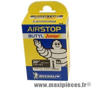 Chambre à air de VTT 20x1.50/2.10 vs 450 a confort g4 (20-9m) + BMX marque Michelin - Pièce Vélo
