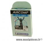 Chambre à air de route 650x18/23 vp b1 ultralight (26-4m) valve 60mm marque Michelin - Pièce Vélo