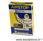 Chambre à air de route 700x18/25 vp a1 (28-4m) valve 40mm marque Michelin - Pièce Vélo
