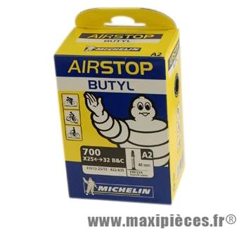Chambre à air de route 700x25/32 vp a2 (28-5m) valve 40mm marque Michelin - Pièce Vélo