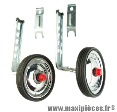 Stabilisateur réglable roue acier (paire) marque No Contest - Accessoire Vélo