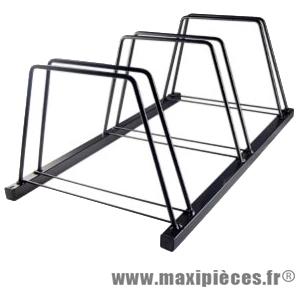 Garage a vélo 3 places (90 x45x33cm) - Accessoire Vélo Pas Cher
