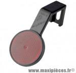Prix spécial ! Catadioptre arrière rouge homologué Basta pour vélo VTT
