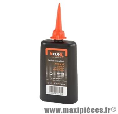 Huile de vaseline (burette) 100 ml marque Vélox