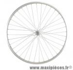 Roue vélo ville 650 x 35b avant axe plein alu - Accessoire Vélo Pas Cher