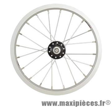 Roue vélo enfant 14 pouces avant jante/moyeu alu (etrto 254x21) - Accessoire Vélo Pas Cher