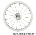 Roue vélo enfant 12 pouces 1/2 x 2 1/4 avant tout alu (etrto 203x21) - Accessoire Vélo Pas Cher