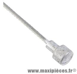 Cable frein route 15/10eme x 1.60m(vendu par boite de 25) marque Transfil - Matériel pour Cycle