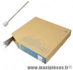 Cable dérailleur inox 2.10m (vendu par boite de 100) marque Shimano - Matériel pour Vélo