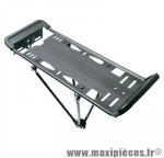 Porte bagage arrière 20/24/26 pouces noir (pliable) - Accessoire Vélo Pas Cher