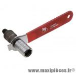Arrache manivelle standard avec manche (axe carre/octalink/isis) - Accessoire Vélo Pas Cher