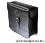 Sacoche vélo s14 courroie noire (paire) - 30 x 30 x 11 cm - Accessoire Vélo Pas Cher