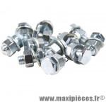 Prix spécial ! Serre cable 3 pièces frein acier (x1) - Accessoire Vélo Pas Cher