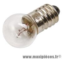 Lampe/ampoule 6v 2.4w import projecteur (ep10) vélo - Accessoire Vélo Pas Cher