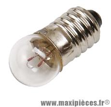 Lampe/ampoule 6v 0.6w import feu arrière (e10) (velo) - Accessoire Vélo Pas Cher