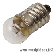 Lampe/ampoule 6v 0.6w feu arrière (culotep10) vélo marque Flosser - Accessoire Vélo