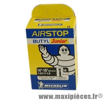 Chambre à air de VTT 14-16 poucesx1.50/2.10 vs i4 (16-9m) marque Michelin - Pièce Vélo
