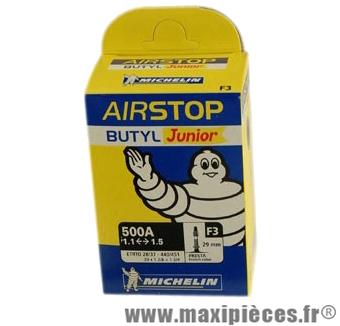Chambre à air de tradi 500x28/35a vp f3 (20-6m) marque Michelin - Pièce Vélo