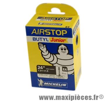 Chambre à air de VTT 24x1.50/2.10 vp e4 (24-9nm) marque Michelin - Pièce Vélo