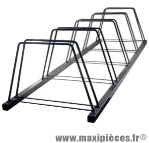 Garage a vélo 5 places (150x45x33cm) - Accessoire Vélo Pas Cher