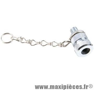 Adaptateur presta pompe adaptable sks/husky avant chainette marque Zéfal - Matériel pour Cycle