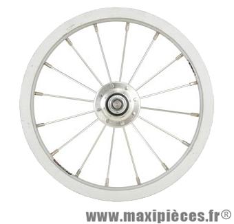 Roue vélo enfant 12 pouces 1/2 x 2 1/4 avant tout alu (etrto 203x21) - Accessoire Vélo