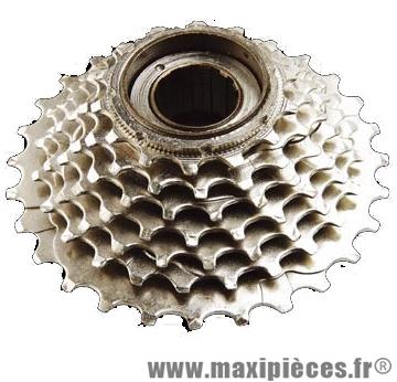 Roue libre 6  vitesses 14-28 dents argent marque Sunrace - Matériel pour Vélo