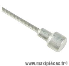 Cable frein route 15/10eme x 1.25m (vendu par boite de 25) marque Transfil - Matériel pour Cycle