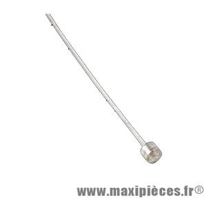 Câble de dérailleur galvanisé 2,00m diam. 1,2mm Transfil Kble (boite de 25)