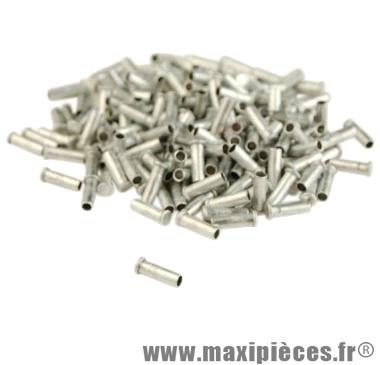 Embout cable zamac 1.8/2.00 (boite de 200) - Accessoire Vélo Pas Cher